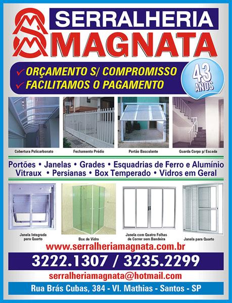Serralheria Magnata | Serralheria em Santos | Serralheria em São Vicente